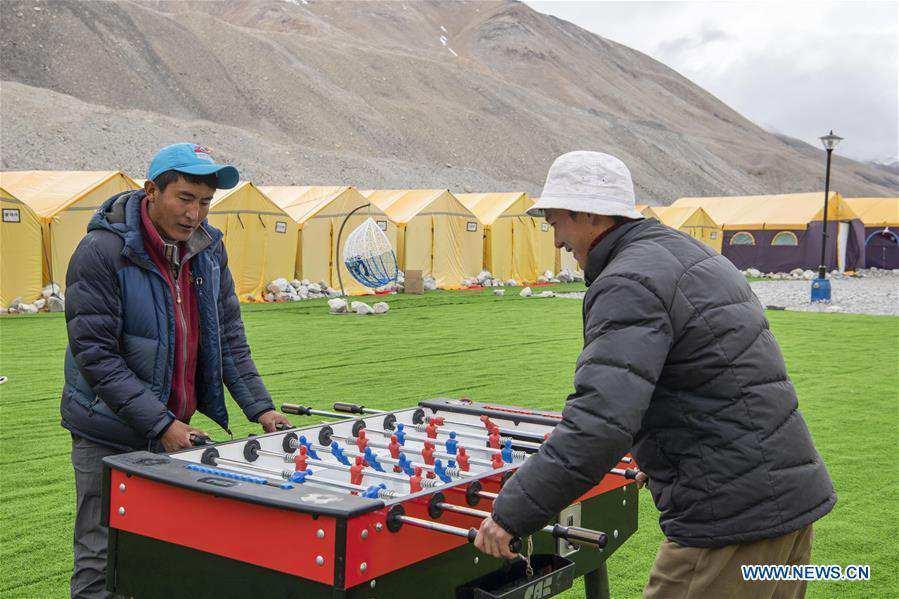 In pics: Mount Qomolangma base camp in China's Tibet
