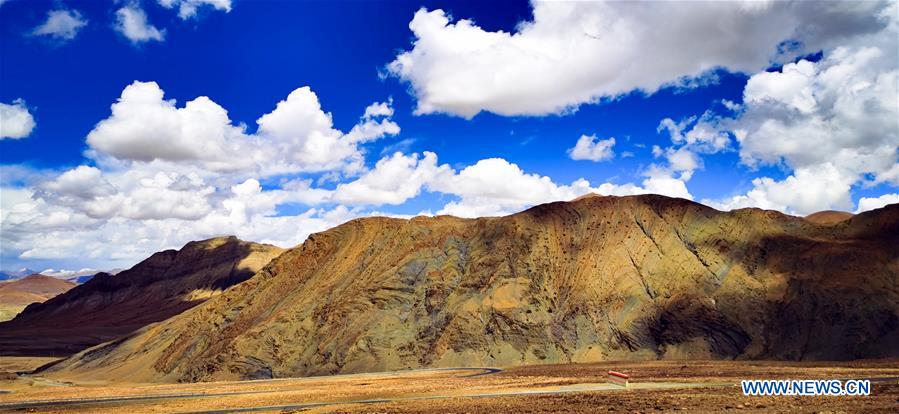 Scenery of Mount Qomolangma National Nature Reserve