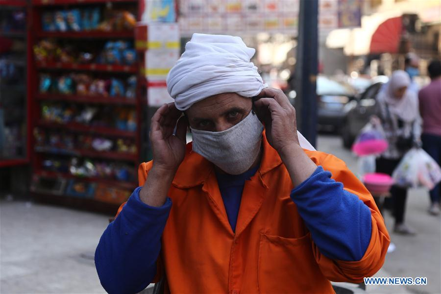 Egypt reports 393 new COVID-19 cases as tally nears 8,000
