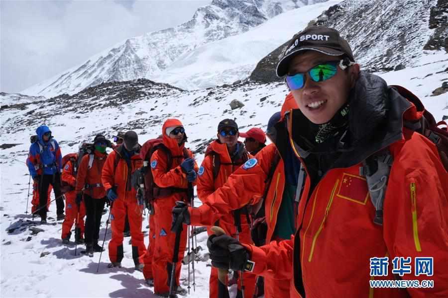 (2020珠峰高程测量)(4)2020珠峰高程测量登山队将分两批撤回大本营休整