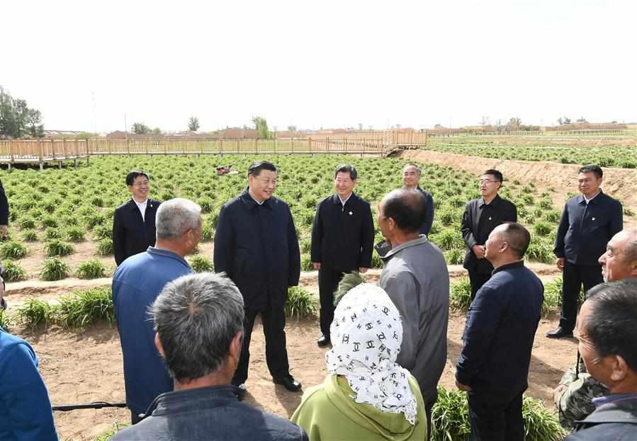CHINA-SHANXI-DATONG-XI JINPING-INSPECTION (CN)