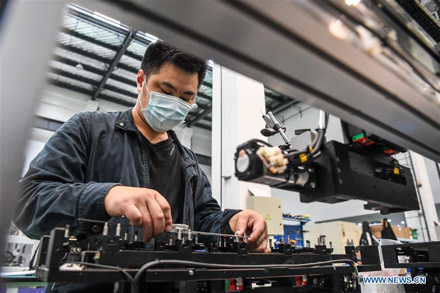 Jiangsu gains rapid growth of laser industries