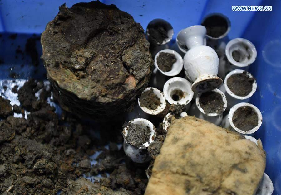 In pics: excavation site of shipwreck of Nanhai No. 1 in Yangjiang