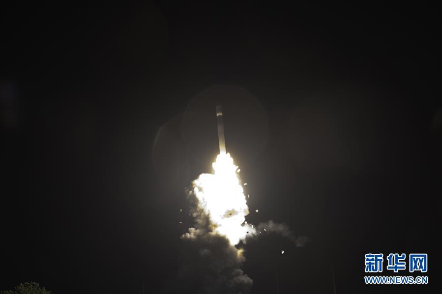 (圖文互動)(2)一箭雙星!新技術試驗衛星G星、H星發射成功
