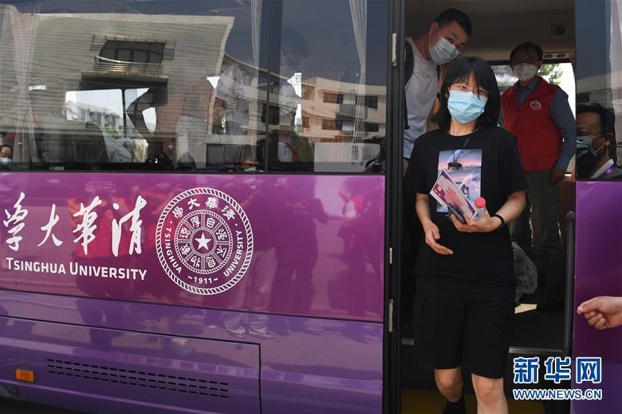 (聚焦疫情防控)(1)北京:高校学生陆续分批返校