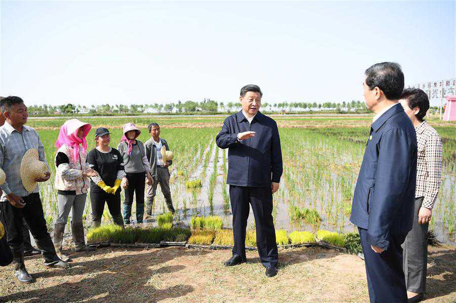 CHINA-NINGXIA-YINCHUAN-XI JINPING-INSPECTION (CN)