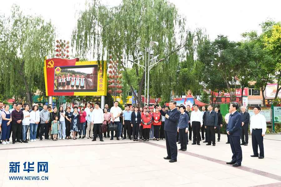 宁夏吴忠市利通区_习近平在宁夏考察--图片频道--人民网