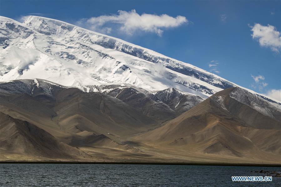 View of Pamir Plateau in Xinjiang