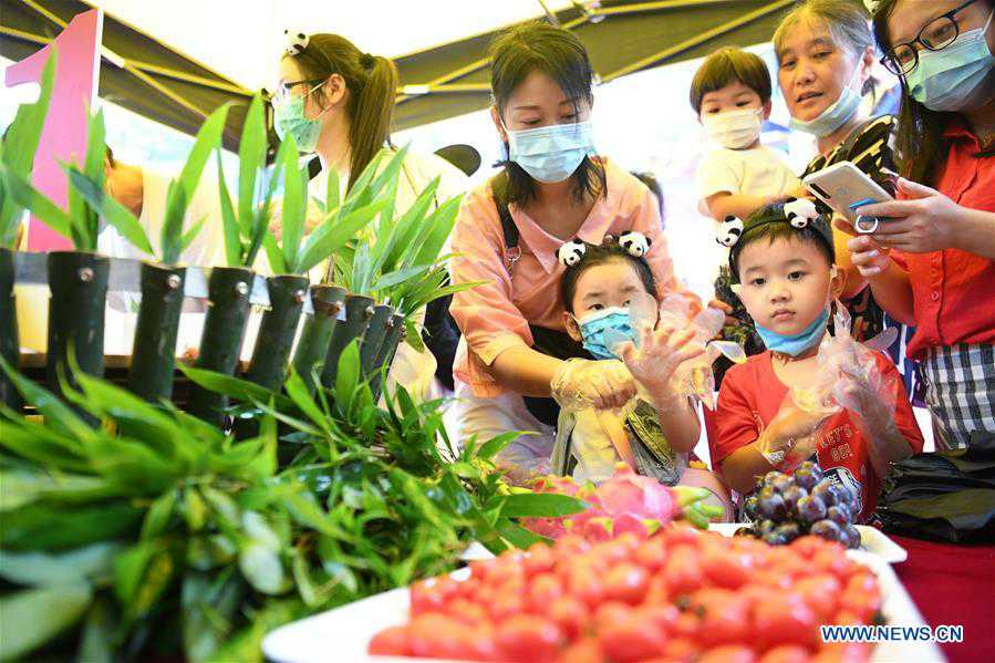 CHINA-CHONGQING-GIANT PANDAS-BIRTHDAY PARTY (CN)