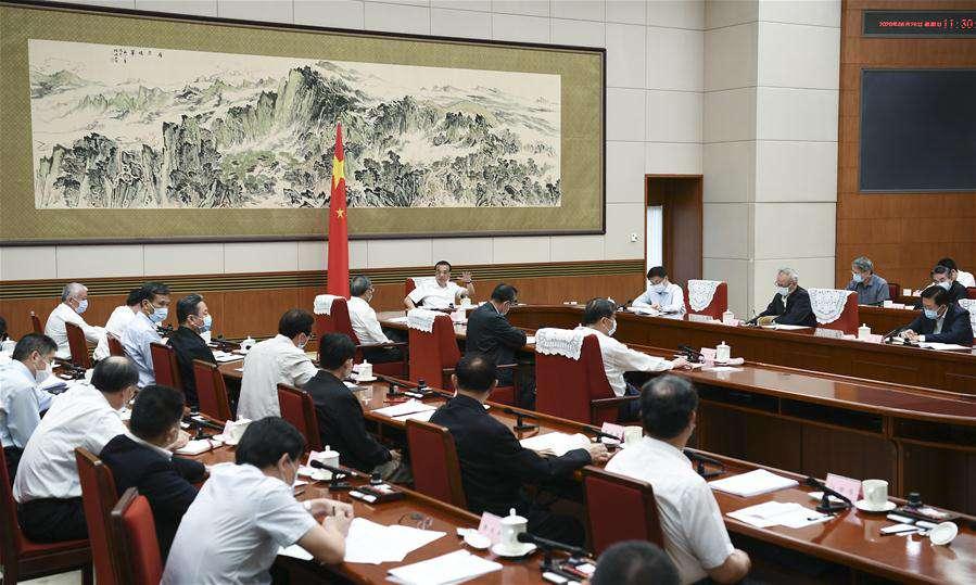 CHINA-BEIJING-LI KEQIANG-HAN ZHENG-SYMPOSIUM-FOREIGN TRADE-INVESTMENT (CN)