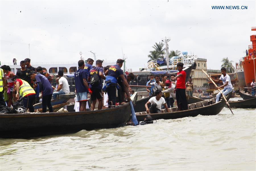BANGLADESH-DHAKA-FERRY-ACCIDENT