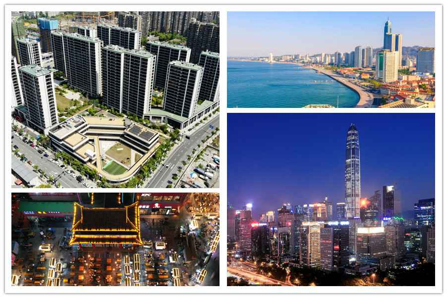 Top 10 Chinese regions by real estate investment