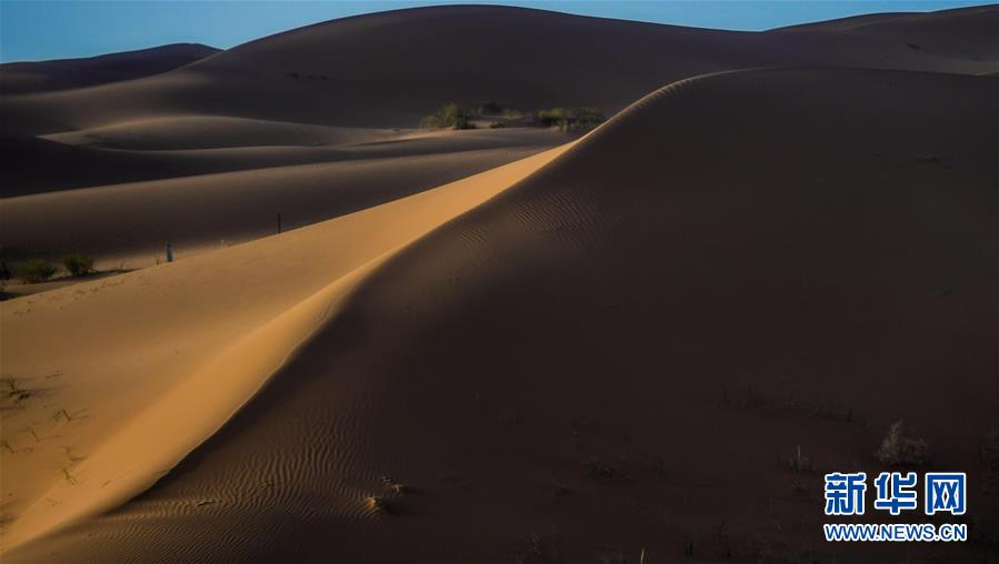 (美丽中国)(1)腾格里沙漠夏日即景