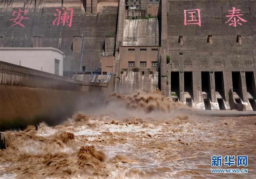 (環境)(5)三門峽水庫降至汛限水位以下