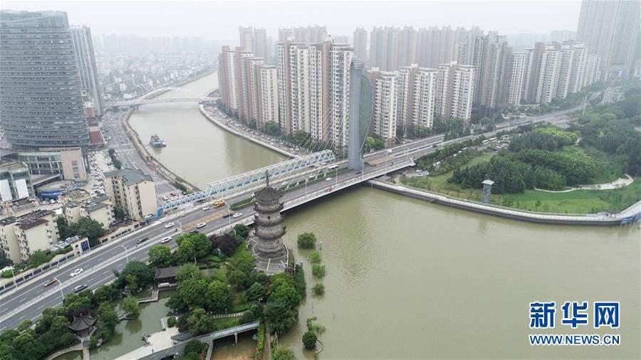 (防汛抗洪)(1)長江蕪湖段持續高水位