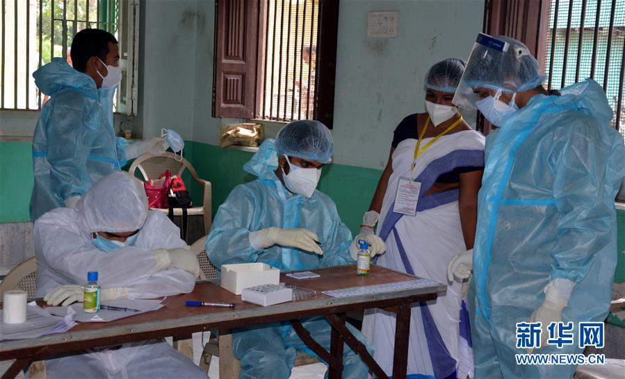 (国际疫情)(3)印度新冠病例日增近5万