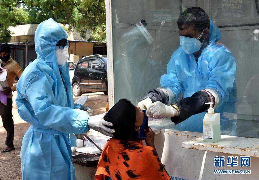 (国际疫情)(4)印度新冠病例日增近5万