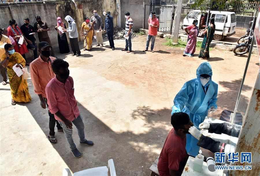 (国际疫情)(5)印度新冠病例日增近5万