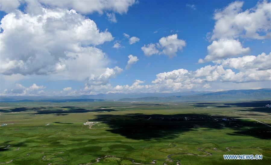 CHINA-QINGHAI-GRASSLANDS-SCENERY (CN)