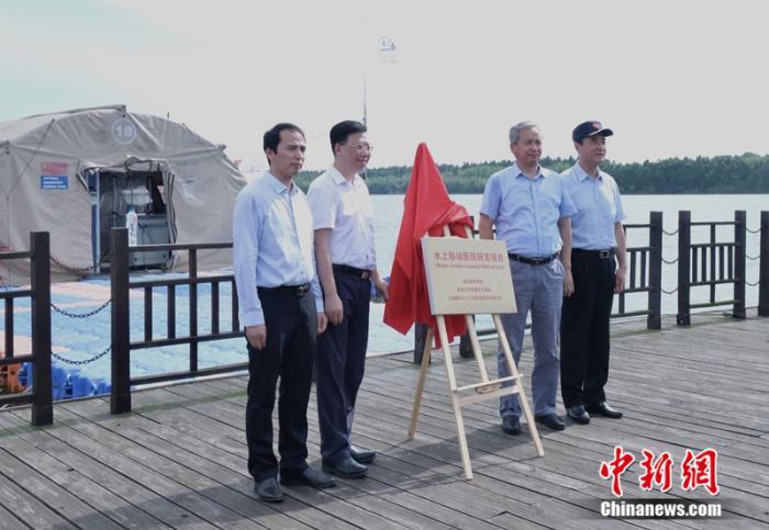 """上海""""水上移动医院""""填补应急救援水路空白"""