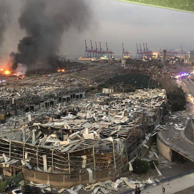 黎巴嫩首都发生巨大爆炸至少73人死亡3000多人受伤