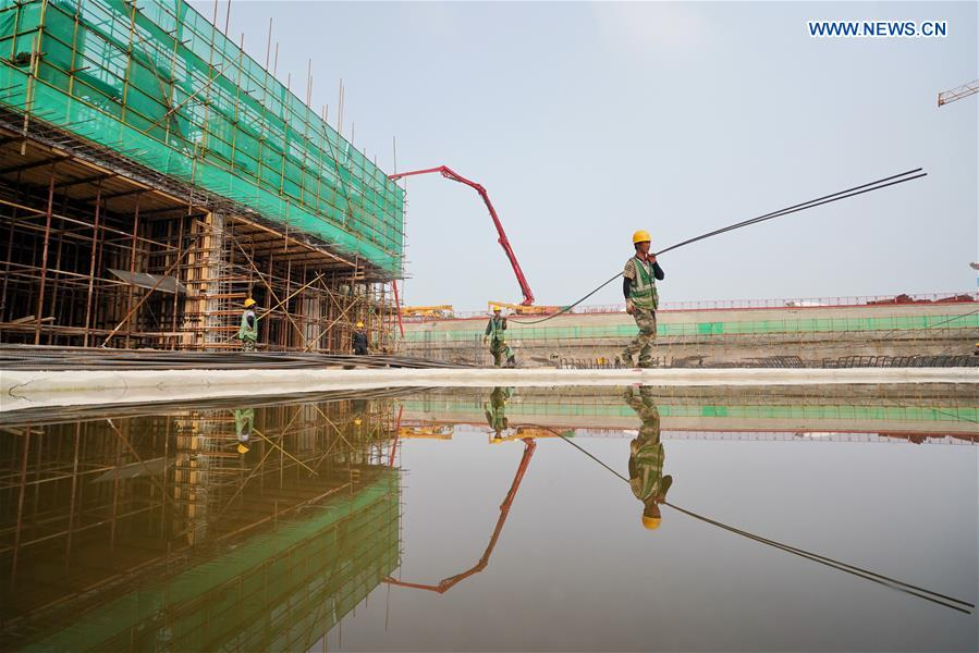 CHINA-HEBEI-XIONGAN NEW AREA-CONSTRUCTION (CN)