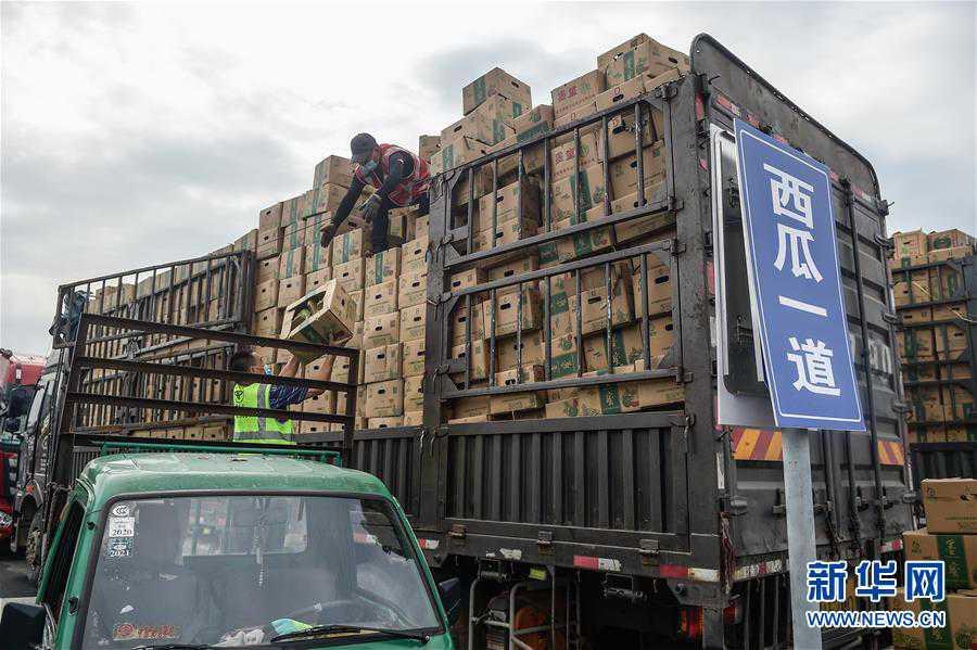 (社会)(5)北京新发地市场复市