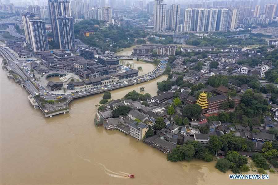 CHINA-CHONGQING-FLOOD (CN)