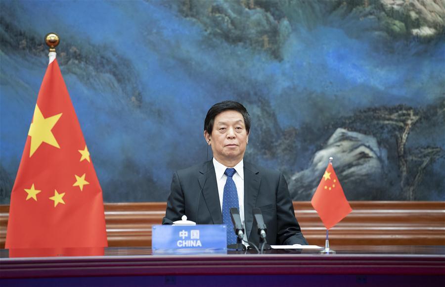 CHINA-BEIJING-LI ZHANSHU-WORLD PARLIAMENT SPEAKERS CONFERENCE (CN)