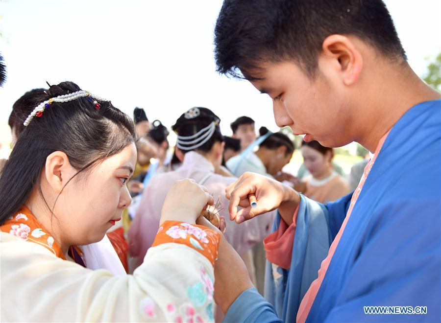 CHINA-SHAANXI-XI'AN-QIXI FESTIVAL (CN)