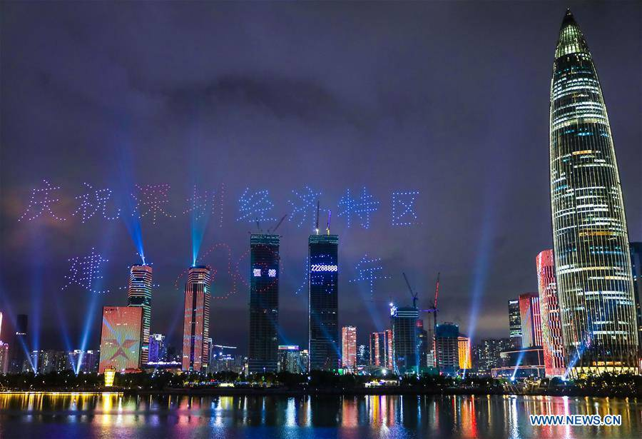 CHINA-SHENZHEN-DRONES-LIGHT SHOW (CN)