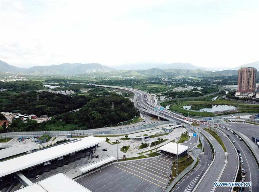 CHINA-SHENZHEN-HONG KONG-NEW PORT (CN)
