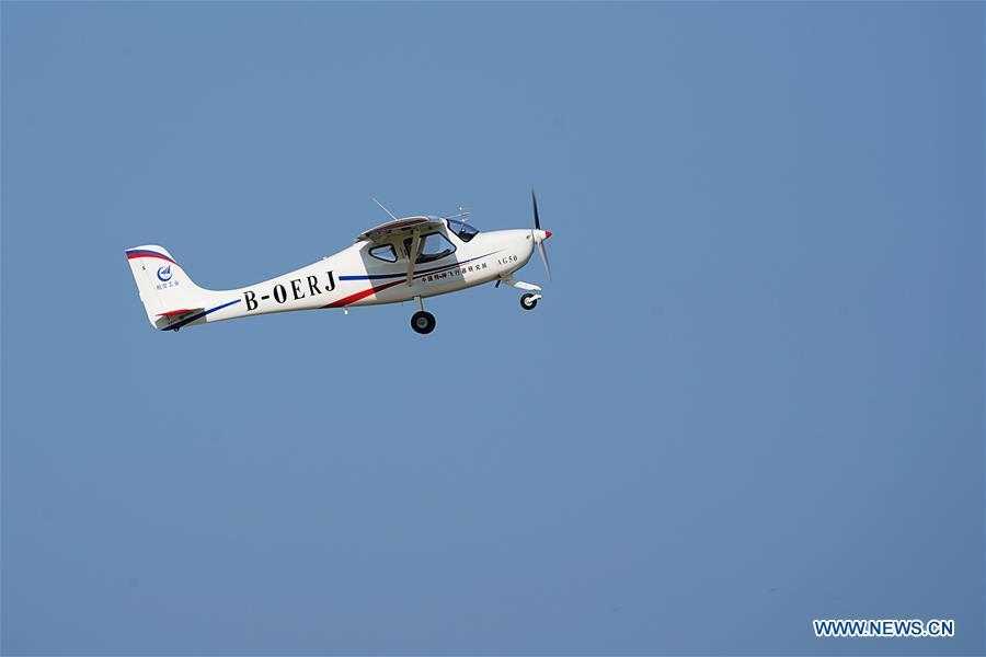 CHINA-HUBEI-LINGYAN-AIRCRAFT-MAIDEN FLIGHT (CN)