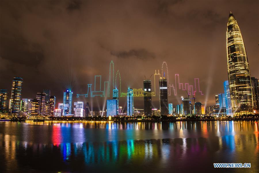 CHINA-SHENZHEN-DRONES-LIGHT SHOW (CN)
