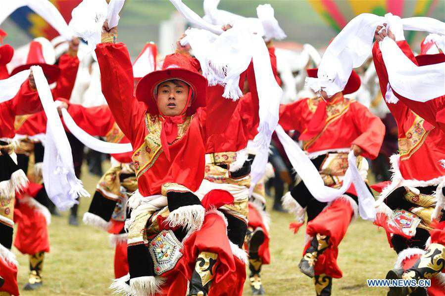 CHINA-GANSU-GANNAN-TOURISM FESTIVAL (CN)