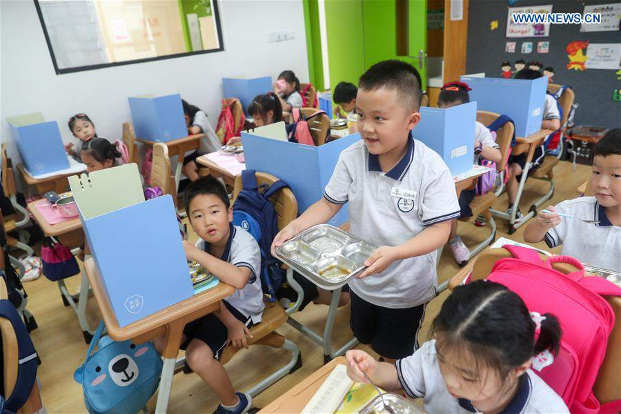 CHINA-CAMPAIGN AGAINST FOOD WASTE-EDUCATION (CN)