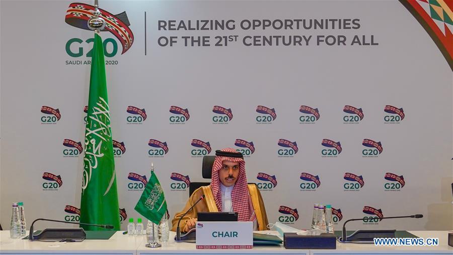 SAUDI ARABIA-RIYADH-G20-FM-MEETING