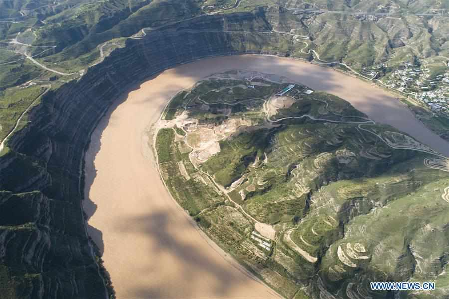CHINA-SHAANXI-YELLOW RIVER-SCENERY (CN)