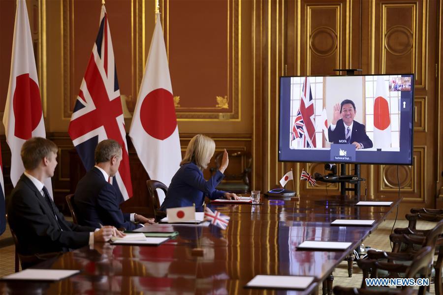 BRITAIN-LONDON-JAPAN-POST-BREXIT FREE TRADE DEAL