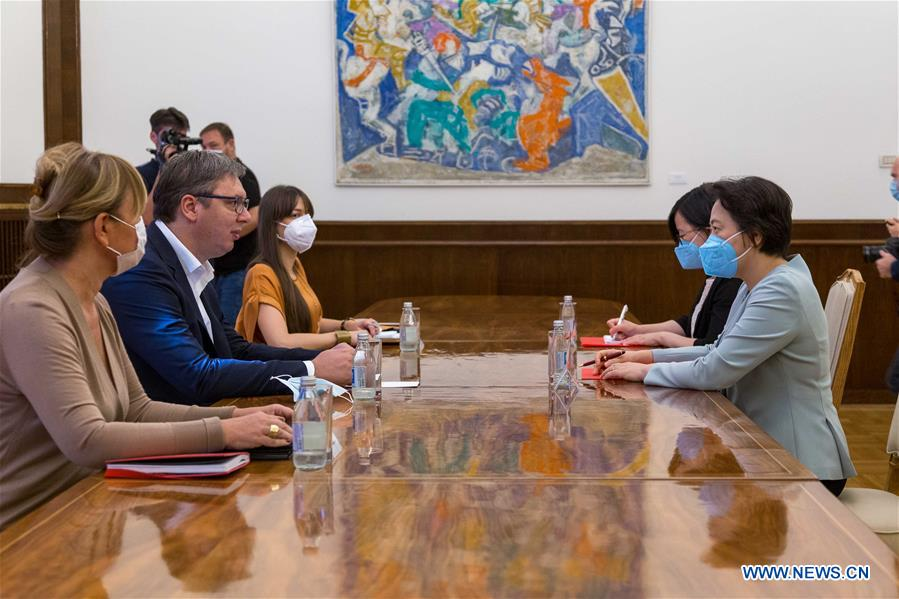 SERBIA-BELGRADE-CHINA-AMBASSADOR-MEETING