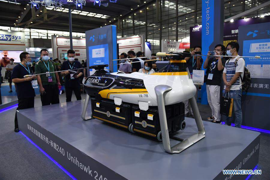 CHINA-SHENZHEN-DRONE WORLD CONGRESS-INT'L UAV EXPO (CN)
