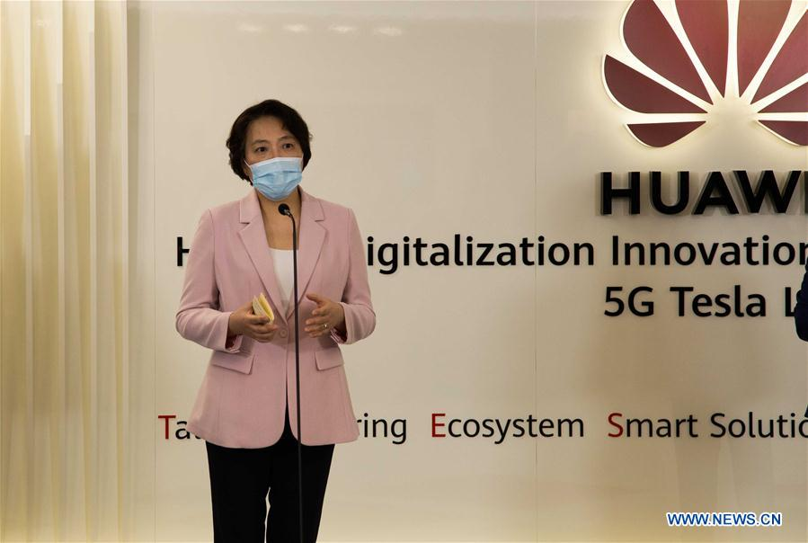 SERBIA-BELGRADE-CHINA-HUAWEI-INNOVATIONS AND DEVELOPMENT CENTER-OPENING