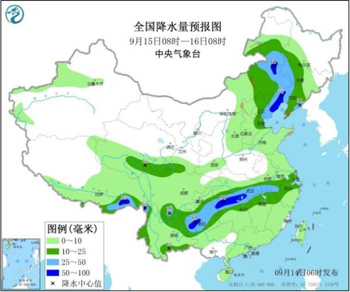 新一轮强降雨加速入秋进程华南需警惕秋台风影响