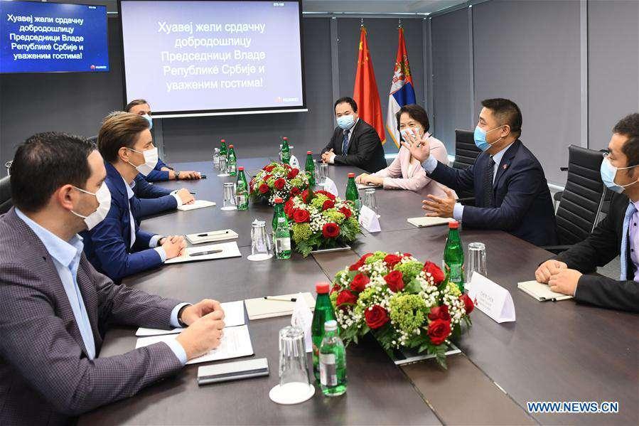 SERBIA-BELGRADE-CHINA-HUAWEI-INNOVATIONS AND DEVELOPMENT CENTER-OPENING