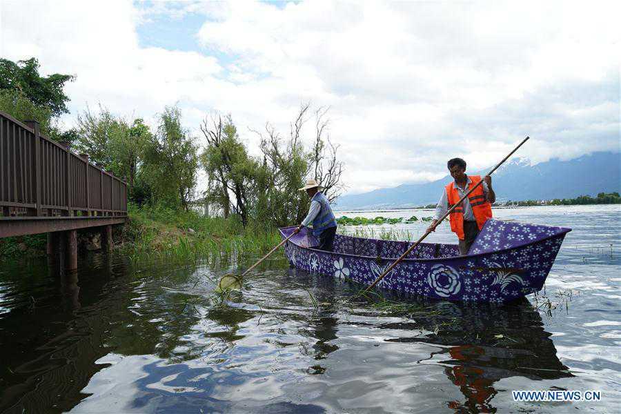 CHINA-YUNNAN-ERHAI LAKE-WATER QUALITY (CN)