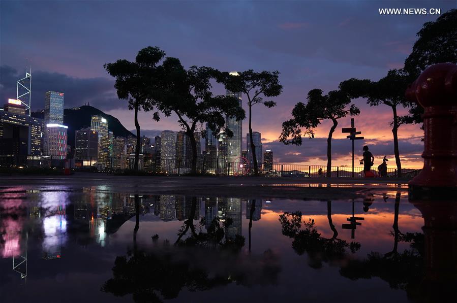 CHINA-HONG KONG-COVID-19-LOCAL NEW INFECTIONS-ZERO(CN)
