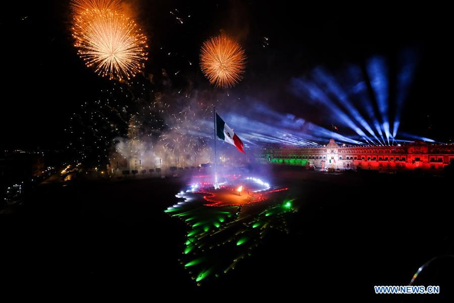 MEXICO-MEXICO CITY-INDEPENDENCE DAY-CELEBRATION