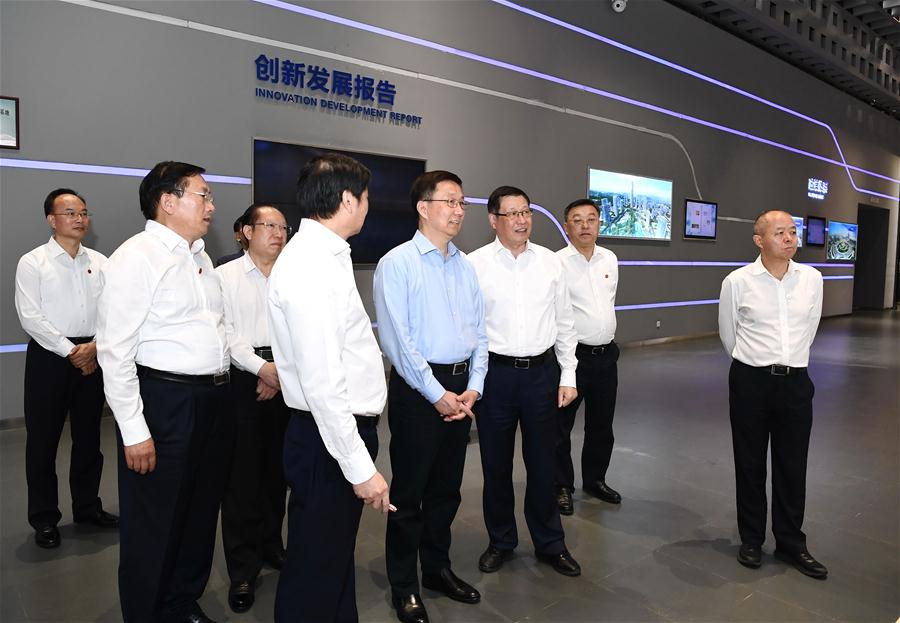Vice premier stresses high-quality growth during Hubei inspection