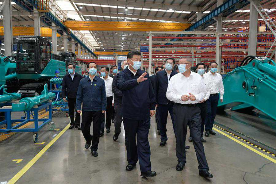 CHINA-HUNAN-CHANGSHA-XI JINPING-INSPECTION (CN)