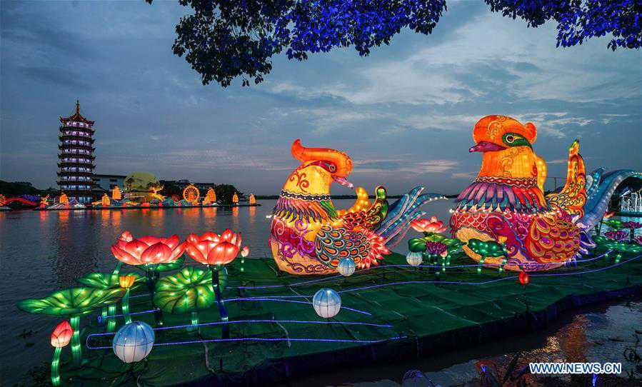 CHINA-JIANGSU-KUNSHAN-MID-AUTUMN FESTIVAL-LANTERN FAIR (CN)